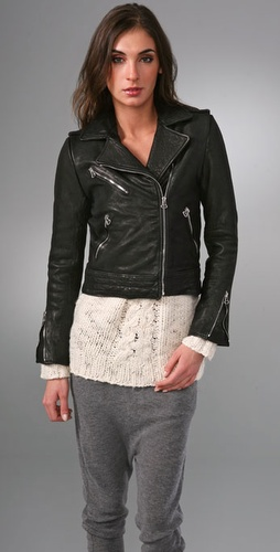 Rag & Bone Bowery Leather Jacket