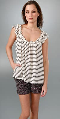 Rebecca Taylor Daisy Stripe Top from shopbop.com