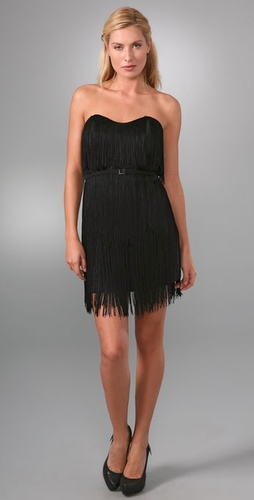 Re Collection Fringe Corset Dress
