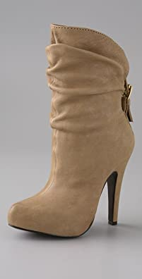 Report Signature Shoes Howell Hidden Platform Draped Bootie - shopbop.com from shopbop.com
