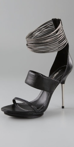 Vaugn Multi Zipper Sandals - Report Signature Shoes from shopbop.com