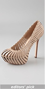 Report Signature Calyer Slatted Pumps :  pumps fashion report signature shoes