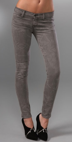 Resin Lariat Super Skinny Jeans