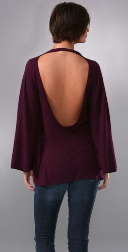 Backless Poncho Sweater - Rachel Pally from shopbop.com