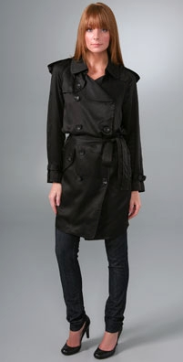 Robert Rodriguez Slouch Trench Coat