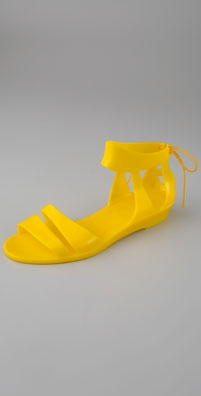 See by Chloe Tie Back Jelly Sandal