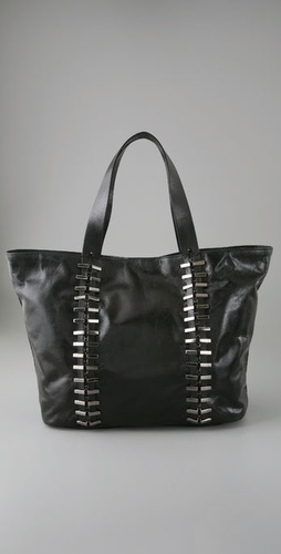 7 For All Mankind Metal Link Large Tote