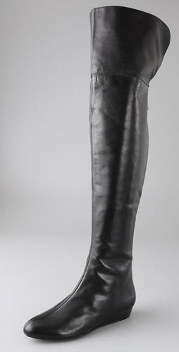 7 For All Mankind Galley Over the Knee Flat Boots
