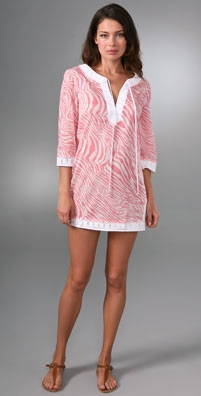 Shoshanna Zebra Print Tunic