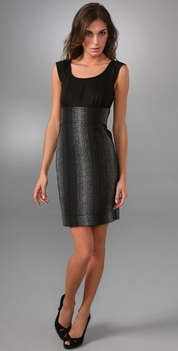 Shoshanna Combo Sheath Dress