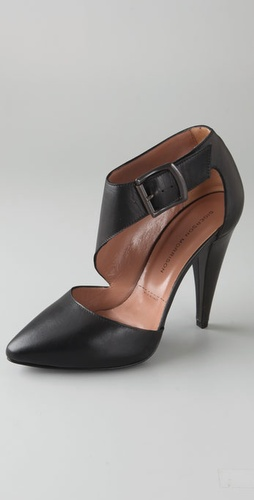 Sigerson Morrison 2 Piece Buckled Pumps