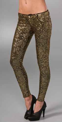 Siwy Hannah Slim Crop Sequin Legging