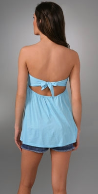 Splendid Very Light & Fashionable Tie Back Tube Top