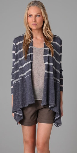 Splendid - Loose Knit Stripe Cardigan