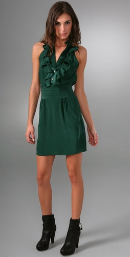 Sunner Florent Ruffle Dress