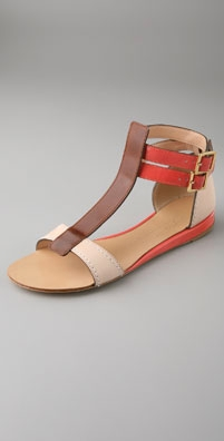 Tapeet T Strap Flat Sandals from shopbop.com