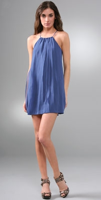 T-Bags Chiffon Ruffle Dress
