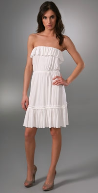 T-Bags Strapless Dress
