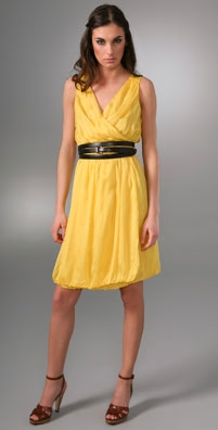T-Bags Sleeveless Dress with Belt