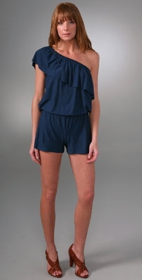 T-Bags One Shoulder Romper
