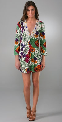 T-Bags Printed Tunic Dress