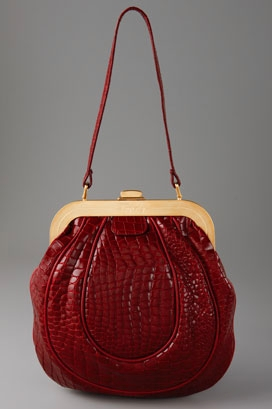 BagTrends.com, Handbag Expert Pamela Pekerman's Bag-a-licious Pick: Temperley London Pandora Bag :  temperley bag red handbag accessories