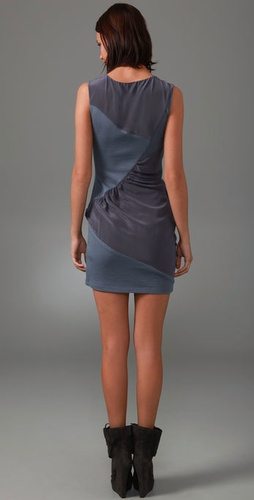 Thakoon Thakoon Addition Patchwork Draped Dress from shopbop.com