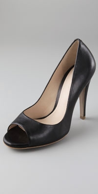 Theory Mariel Open Toe Pumps