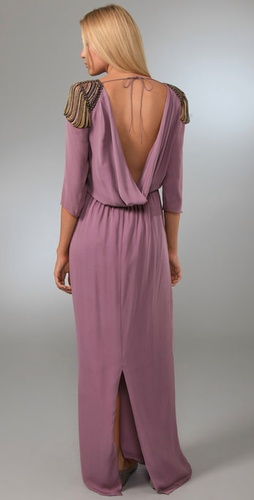 Tibi Nile Beaded Long Dress from shopbop.com
