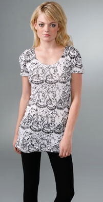 Lace Tunic Tee