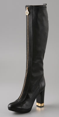 Tory Burch Mary Zip Front Stretch Boot