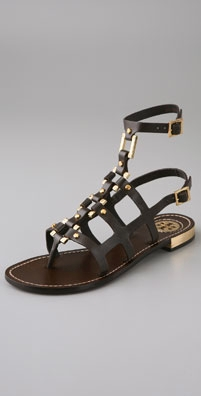 Tory Burch Vaughn Flat Gladiator Sandals