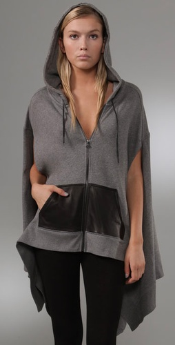 T by Alexander Wang Hooded Poncho from shopbop.com