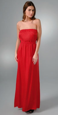 Twelfth St. by Cynthia Vincent Strapless Gown