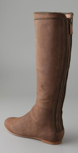 Twelfth St. by Cynthia Vincent Vera Exposed Zip Boots
