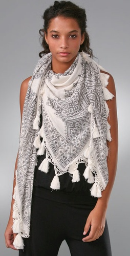 Twelfth St. by Cynthia Vincent Printed Scarf