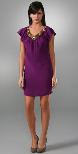 Twelfth St. by Cynthia Vincent Jewel Neck Dress