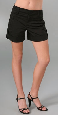 Vince High Waisted Shorts