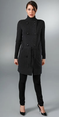 Vince Admiral Sweater Coat