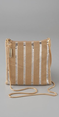 Whiting & Davis Checkerboard Cross Body Bag