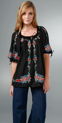 Zimmermann Babushka Peasant Top