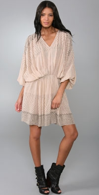 Zimmermann Dusk Net Slouch Dress