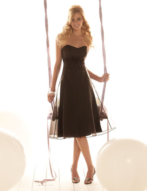 how can i make black bridesmaid dresses classy instead of somber classy dresses 500x650