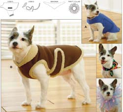 Dog Jacket Pattern