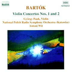 Violinist Pauk  plays Henri Bartok at Amazon