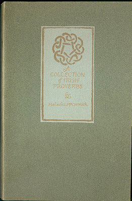 A Collection of Irish Proverbs , McCormick, Malachi