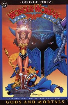 Wonder Woman: Gods and Mortals cover