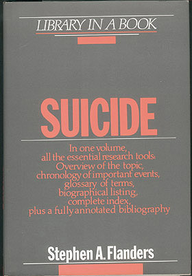 Suicide (Library in a Book) , Flanders, Stephen A.
