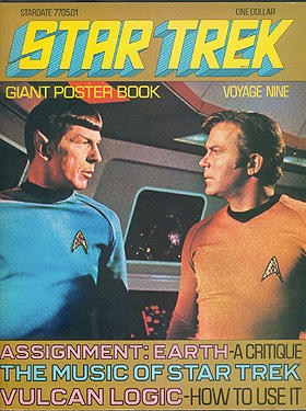Star Trek Giant Poster Book: Voyage Nine , Barlow, Ron (editor)