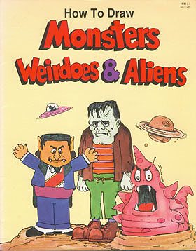 How to Draw Monsters, Weirdoes and Aliens, Barto, Renzo